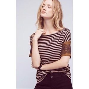 Anthropologie Lili's Closet Margot Striped Shirt